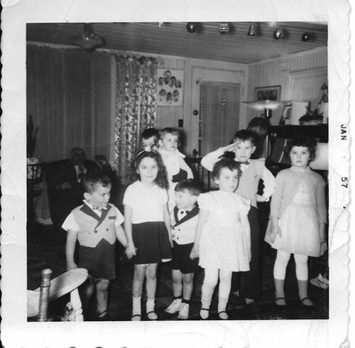 1957-les-enfants-à-Noël